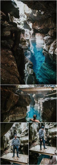 Secret Hot Spring, Iceland http://www.loelledgephoto.com/blog/2017/11/7/the-10-best-hot-springs-of-iceland