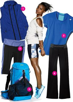 Swapping sloppy sweats for more stylish workout clothes can increase your resolve, your mood, and even your workout performance Womens Workout Outfits, Sport Outfits, Cute Outfits, Pear Shaped Outfits, Womens Health Magazine, Under Armour Jackets, Stella Mccartney Adidas, Gym Wear, Sport Wear