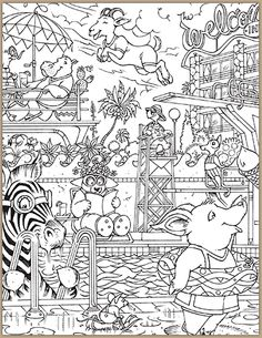 hidden pictures printables highlights - Printable Hidden Pictures For Kids