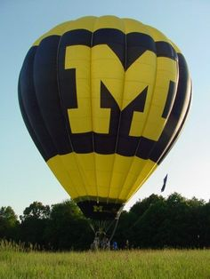 Taking the Block M to new heights, Go Blue! #BeatOhio #PinToWin