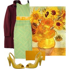 art inspired outfits - Vincent Van Gogh, created by georgina-m on Polyvore