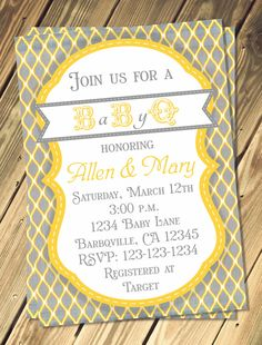Hey, I found this really awesome Etsy listing at https://www.etsy.com/listing/182124406/baby-q-shower-invitation-print-your-own