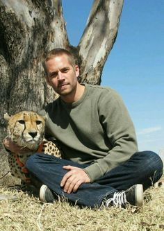 Wonderful Actor With My favorite animal. RIP Our 👼 Angel Paul Walker ✝ Actor Paul Walker, Rip Paul Walker, Cody Walker, Furious Movie, The Furious, Fast And Furious, Beautiful Soul, Gorgeous Men, Raining Men