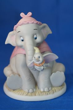 Baby Dumbo & Mother Your Love Is So Comforting Disney Precious Moments Figurine