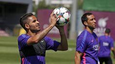 Douglas | Entrenamiento 3/6/15 | FC Barcelona