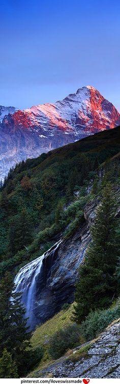 Eiger, Switzerland. Original Photo: James Appleton. Cropped by iLoveSwissMade