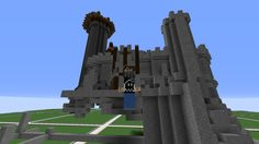 Meine Unfertige Mincraft Burg In Kretiv gebaut