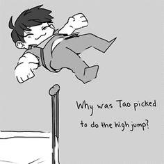 EXO meme. HAHAHA chen: just go under~ (gif)