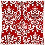 The New Arrive 2015 Red Damask Vintage Floral Flowers Pillow Cases  18x18 -- See this great product. (Note:Amazon affiliate link)