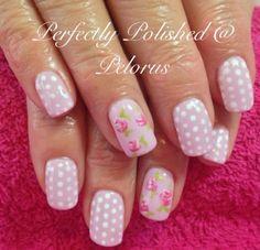 My mum's Cath Kidston nails