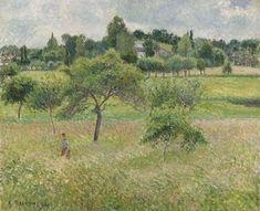 Apple Trees at Eragny - Camille Pissarro - The Athenaeum