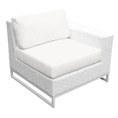 TK Classics Miami 6 Piece Outdoor Wicker Patio Furniture Set with 2 Covers: Sail White and -- Check out this great product. (This is an affiliate link) Outdoor Wicker Patio Furniture, Patio Furniture Sets, Patio Chairs, Furniture Cleaning, Furniture Market, Modern Patio, White Wicker, Modular Design, Modern Design