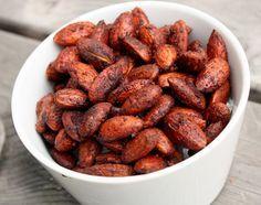 1 cup raw almonds  1/2 tsp. cinnamon  1-1/2 tsp. pumpkin pie spice  1/4 tsp sea salt  2 tbsp. agave nectar or maple syrup  1/2 tsp. vanilla extract