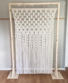 Whether your wedding vibe is bohemian, rustic, Southwestern, or somewhere in between, these are the best Etsy macramé backdrops to complete the look!
