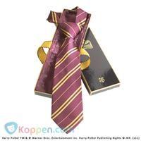 Gryffindor 100% zijden stropdas in Madam Malkins Box - Koppen.com