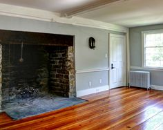 Massive Walk-in cooking fireplace
