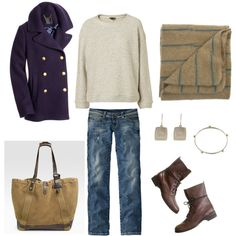 something of a different color combo for the winter.  cute!