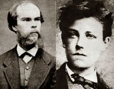 Paul Verlaine e Arthur Rimbaud. (Google Search)