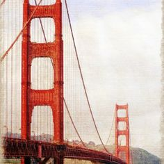 Wawrous Foto Design - Golden Gate Bridge by Wawrous