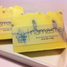 Namaste Bar Soap by CellarDoorSoapCo on Etsy, $6.00
