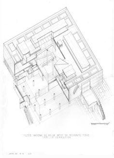 Museo de Tokio Le Corbusier, Tokyo Museum, Concept Architecture, Western Art, Art Museum, Floor Plans, Diagram, How To Plan, Plane