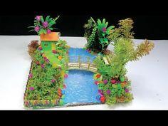 Natural Village Make With Hot Glue Gun DIY - Hot Glue Waterfall - YouTube