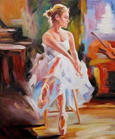Shop Popular Ballerina Bedroom Decor from China Oil Painting Texture, Texture Art, Oil Painting On Canvas, Ballerina Art, Ballet Art, Ballerina Bedroom, Ballerina Silhouette, Acrylic Painting Techniques, Dance Art