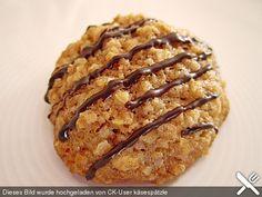 Haferflocken - Walnuss - Kekse, ein schönes Rezept aus der Kategorie Kekse & Plätzchen. Bewertungen: 69. Durchschnitt: Ø 4,6.