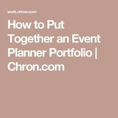 Cover Letter Example For An Event Planner To Help You Get An