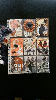 Halloween pocket letter by Terri Panone