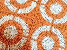 Ravelry: Graphic Circles Throw pattern by Julie Yeager