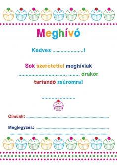 Ingyenesen letölthető meghívók. Meghívók az Éva magazint� - ÉVA MAGAZIN Invitation Cards, Invitations, Coloring For Kids, Geek Stuff, Party, Google, Style, Wings, Creative