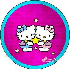 Etiquetas de Hello Kitty para descargar gratis