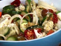 Marinated Vegetable Salad Recipe : Paula Deen : Food Network