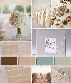11 Hochzeit Trendfarbe 2014 beige einladungen hochzeitskarten klassisch Hochzeit Trendfarbe 2014