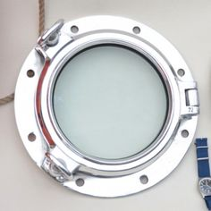 Opening Aluminium Porthole - 20cm