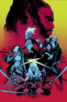Cover art for Uncanny X-Force vol. 2 #1. Artwork by Olivier Coipel.