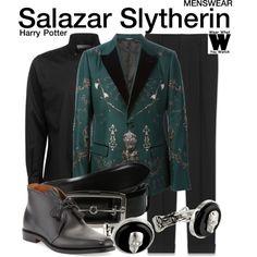 Inspired by Hogwarts founder Salazar Slytherin.