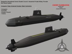 Conqueror class nuclear attack submarine. Under development in Blender well no free flood holes and ballast tank slit modeled for now Conqueror class SSN is the student council& nuclear attac. E Boat, Steam Turbine, Nuclear Submarine, Military Drawings, Us Navy Ships, Naval, Concept Ships, Army Vehicles, Aircraft Design