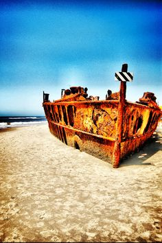 Ship Wreck in Australia