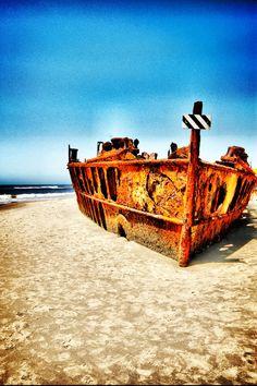 Ship Wreck in Australia