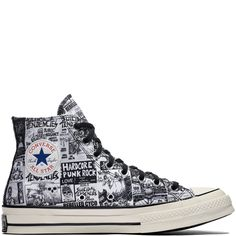 c49d06de7050 Converse x Suicidal Tendencies Chuck 70 High Top Black Egret White  black egret