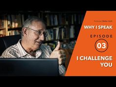 Walter Veith - I Challenge You - WHY I SPEAK - Episode 3 - YouTube Finding God, Choose Life, King Of Kings, Episode 3, S Word, Believe, Challenges, Bible, Faith
