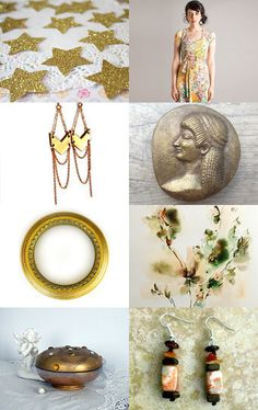 Golden by renee and gerardo on Etsy--Pinned with TreasuryPin.com