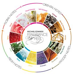 Scent Mapping: The-Fragrance-Wheel and other diagrams to identify the scent and flavour characteristics of different aromas #scentmap #aromatherapy #perfume