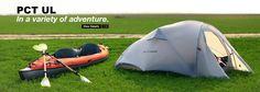 Kayak adventure with PCT UL