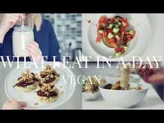 What I Eat in a Day #3 (Vegan/Plant-based) | JessBeautician - YouTube