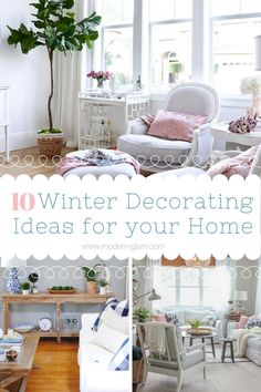 Lovely Winter Decorating: 10 Creative Ideas To Decorate Your Home