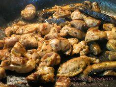 Κοτόπουλο με μανιτάρια
