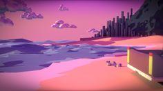 ArtStation - Pink Summer, William Brizola